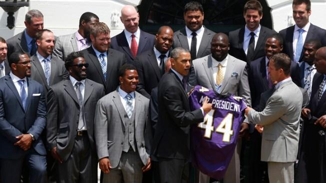 Obama Congratulates Super Bowl Champion Ravens