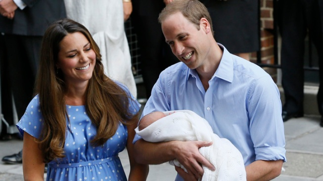 Diaper Duty: Prince William Tells of Fatherhood