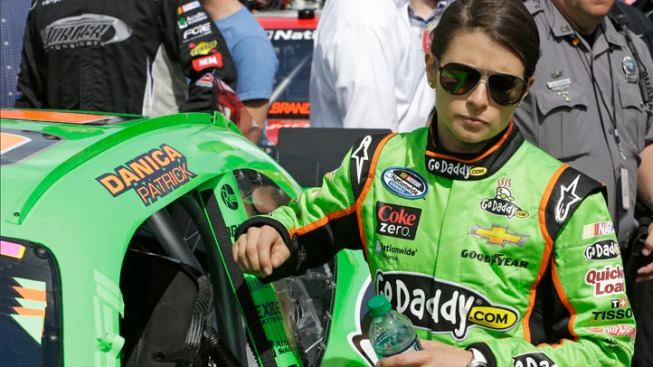 Danica Patrick Leads Laps in Historic Daytona 500