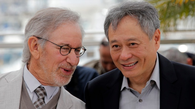 Oscar Rivals Spielberg, Lee Reunited at Cannes
