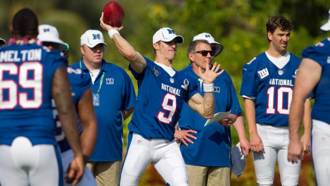 Pro Bowl Players Loose in Final Walkthrough