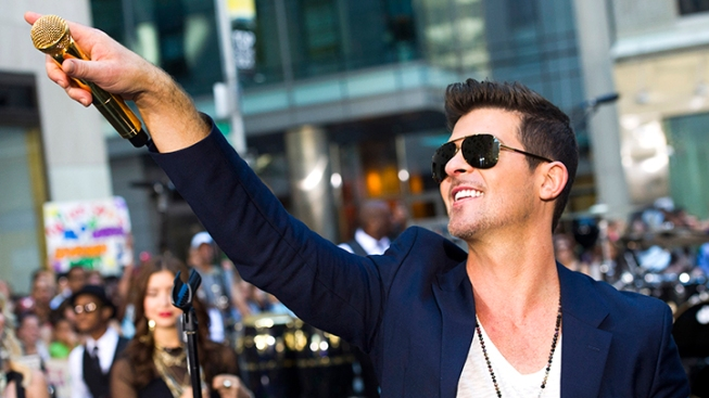 """Robin Thicke Heads to Court Over """"Blurred Lines"""""""