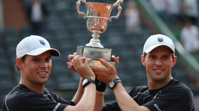 Bryans Win Men's Doubles Title at French Open