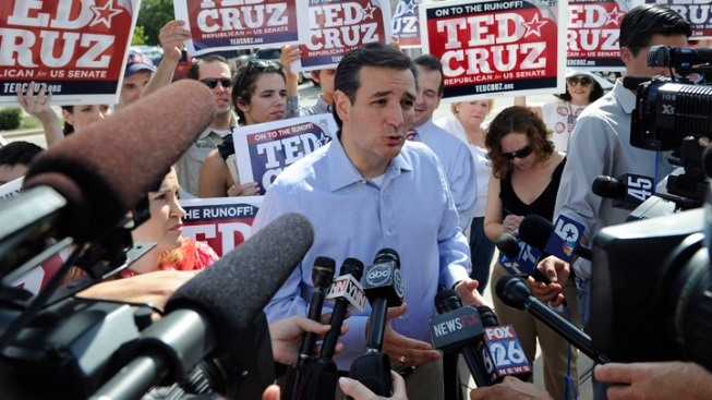 Cruz Reconciling With Former Texas GOP Foes