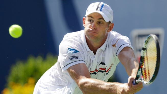Roddick Stops Young American Qualifier at US Open
