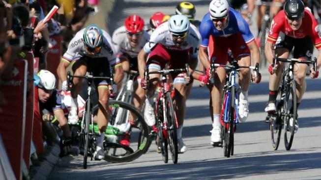 Tour de France Favorite Sagan Disqualified After Causing Crash