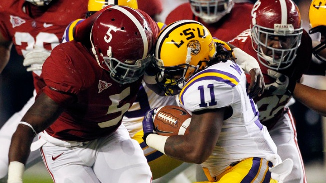 It's No. 1 LSU Vs. No. 2 Alabama in BCS Championship