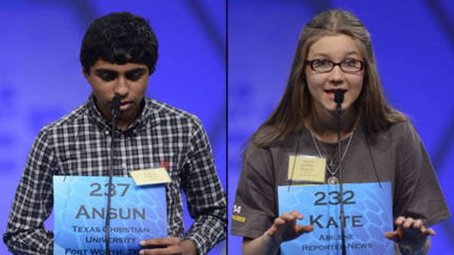 Two Texans Compete in Spelling Bee Finals