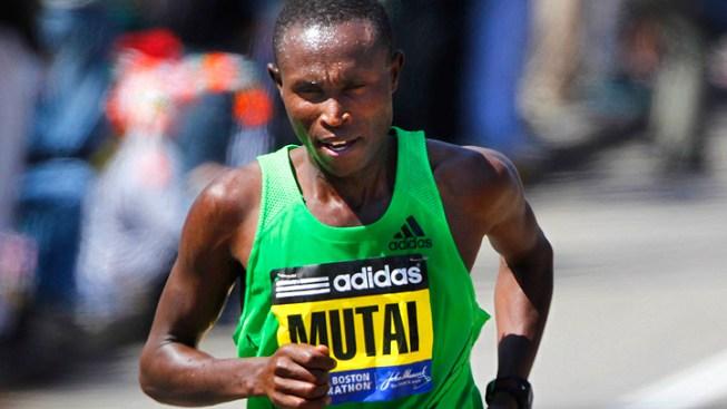 Kenyan Sets Record in Boston Marathon