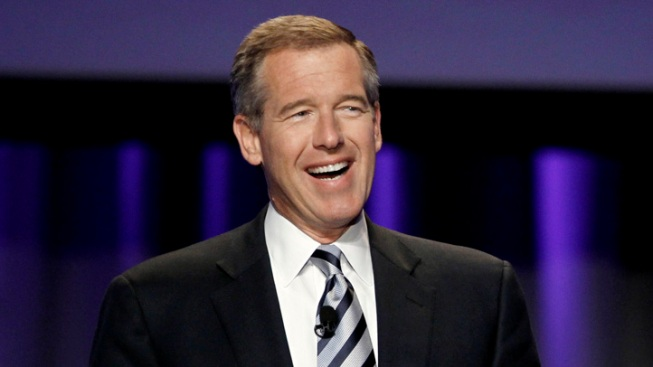 "WATCH: Brian Williams Raps Young M.C.'s ""Bust a Move"""