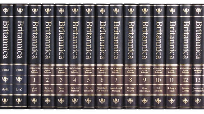 Encyclopedia Britannica Discontinues Print Encyclopedias