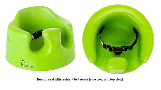 Bumbo Baby Seats Sold in TX on Recall List