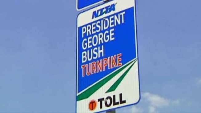 NTTA Closing Lanes of President George Bush Turnpike to Pave New Lane