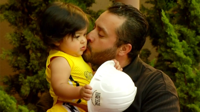 Maintenance Worker Reunited with the Toddler He Saved