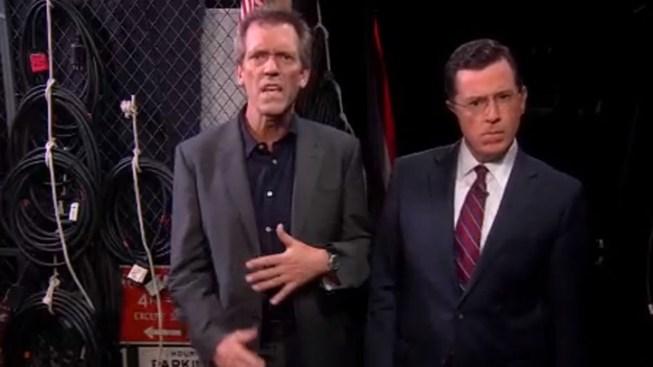 "Daft Punk Bails on Colbert, Inspires Celebrity-Studded ""Get Lucky"" Dance Off"