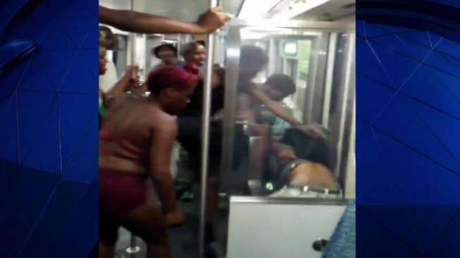 Woman in Red the Third Arrested in DART Mob Assault