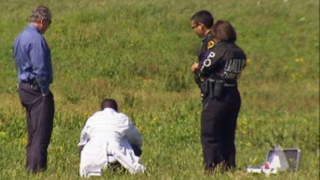 Dallas Police Investigate Human Bones Near River