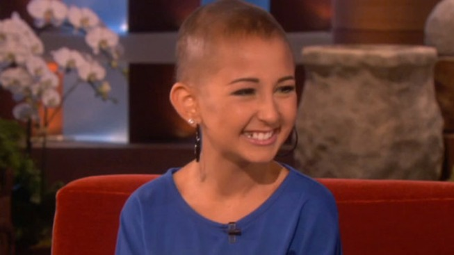 Ellen DeGeneres Mourns Death of Cancer-Stricken Teen, CoverGirl Talia Castellano