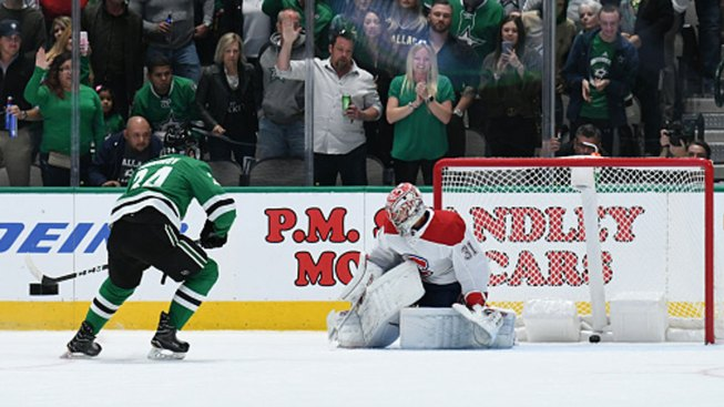 Gurianov Scores on Penalty Shot, Stars Beat Canadiens