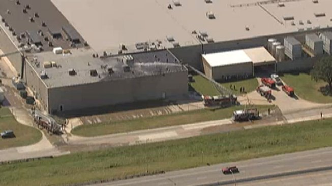 Fire Reported at Dr Pepper Bottling Plant in Irving