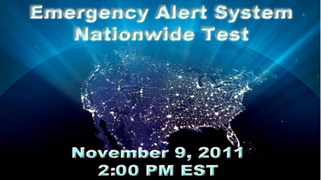 Feds to Test Nationwide Alert Wednesday