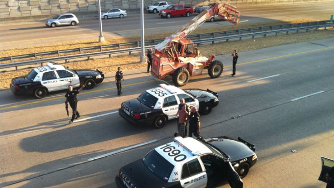 Fort Worth Man in Forklift Chase Not Competent: Judge