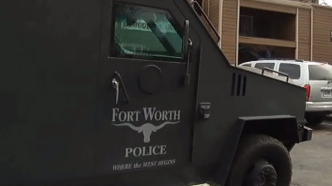 SWAT Respond to Fort Worth Home, Man in Custody