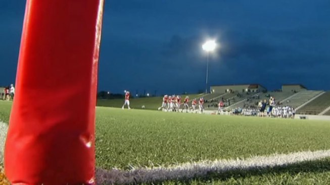 Football Returns Under the Lights at Mustang-Panther Stadium