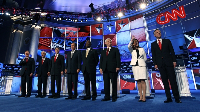 GOP Candidates Debate Foreign Policy