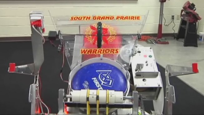 Grand Prairie Student Wins Robotics Award