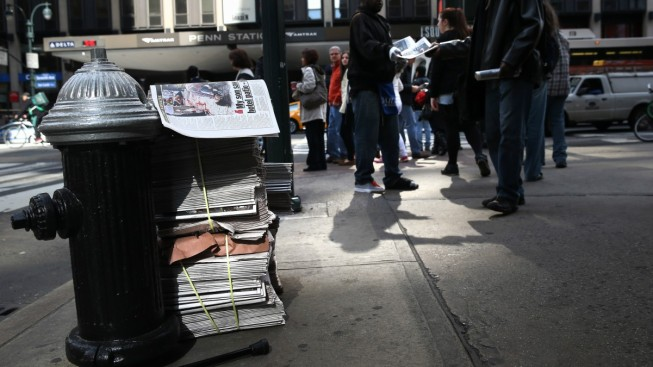 Storied NY Tabloid Daily News Sold to Tribune Spin Off Tronc