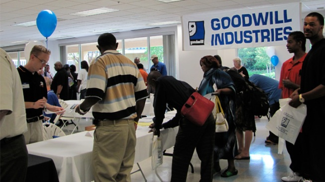 Goodwill Industries of Fort Worth 2013 Job Fair