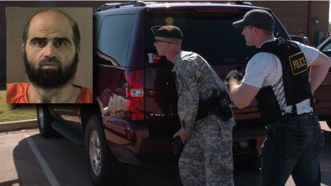 Fort Hood Case Moves Outside Building of Rampage