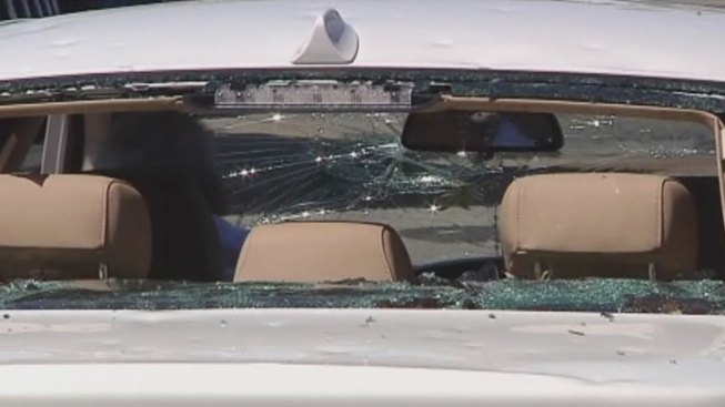 Hail Damage?  Don't Recycle Some Broken Glass