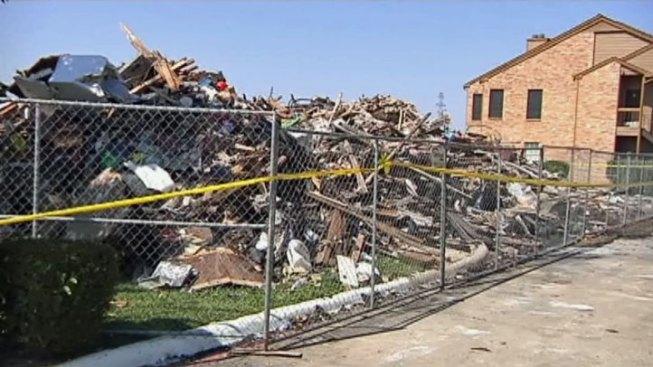 Irving Fire Destroys Four Families' Homes