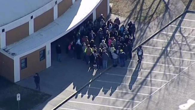 Multiple people shot at Kentucky high school