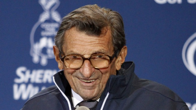 Joe Paterno Gets Div. 1 Wins Record With No. 409
