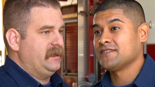 Firefighters Honored for Sharing Harrowing Survival Story