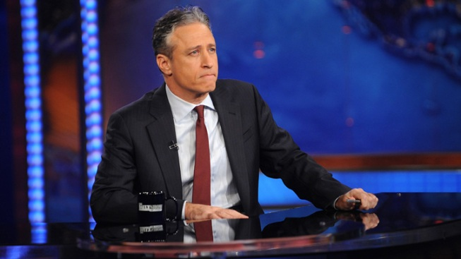 Jon Stewart Picks Fight With Another Pizza