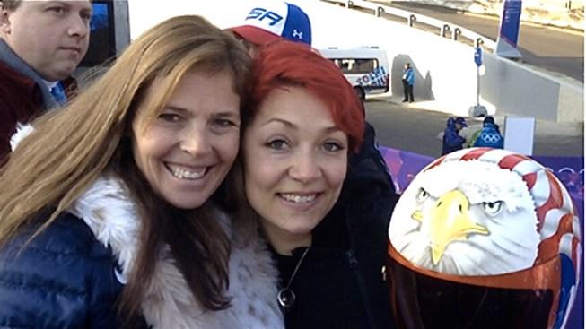 Katie Uhlaender Lets Fans Choose Her Racing Helmet