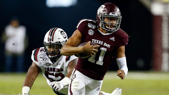 Mond Leads Aggies to Win Over South Carolina
