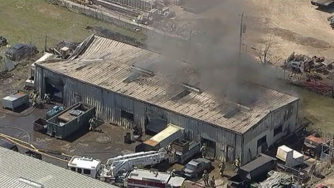 Fire Reported at Lewisville Business