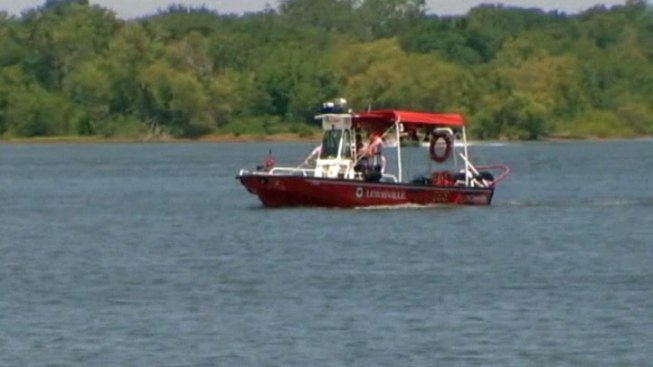 Search for Drowning Victim at Lewisville Lake