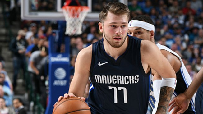 Doncic's 27, Late Charge Calls Help Mavs Top Magic