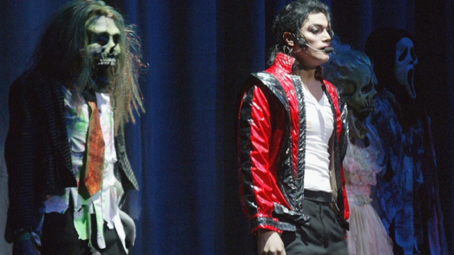 Thriller Jacket Goes on Tour for Charity
