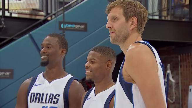 Nowitzki A Changed Man on a Changed Mavs Squad