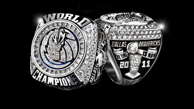 Dallas Mavs Championship Ring