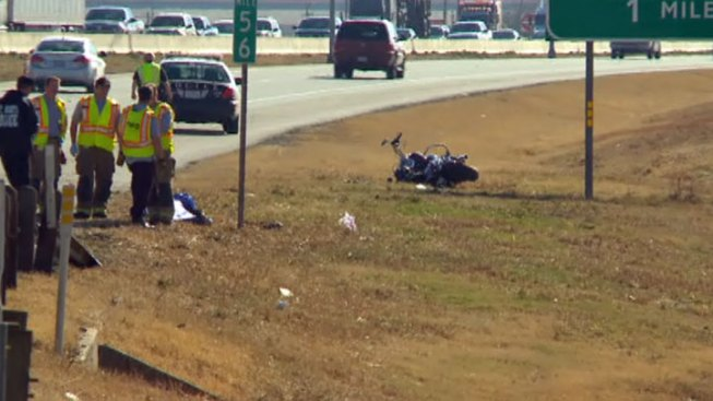 Motorcycle Rider Killed in Fort Worth Crash