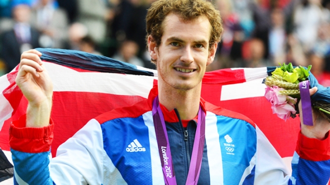 Murray Wins Gold in Men's Singles