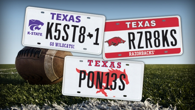 Can License Plates Pick Bowl Winners?